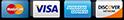 Mastercard Visa American Express Discover